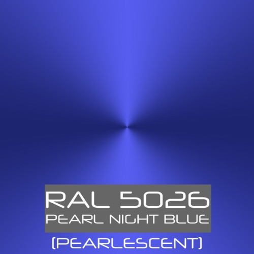 RAL 5026 Paint